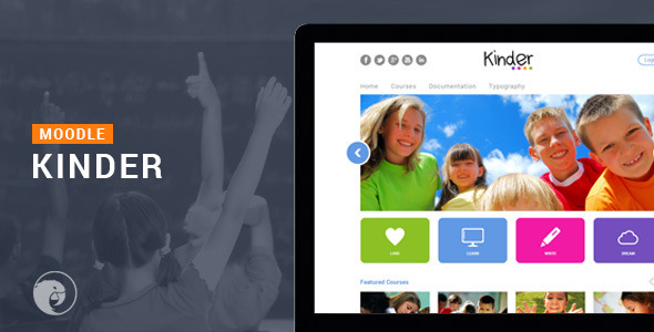 Kinder - Moodle Theme - Miscellaneous CMS Themes