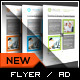 Four Key Square Flyer - GraphicRiver Item for Sale