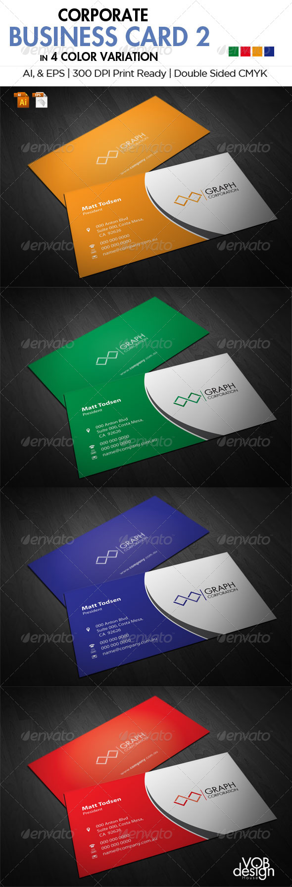 GraphicRiver Corporate Business Card 2 5845569
