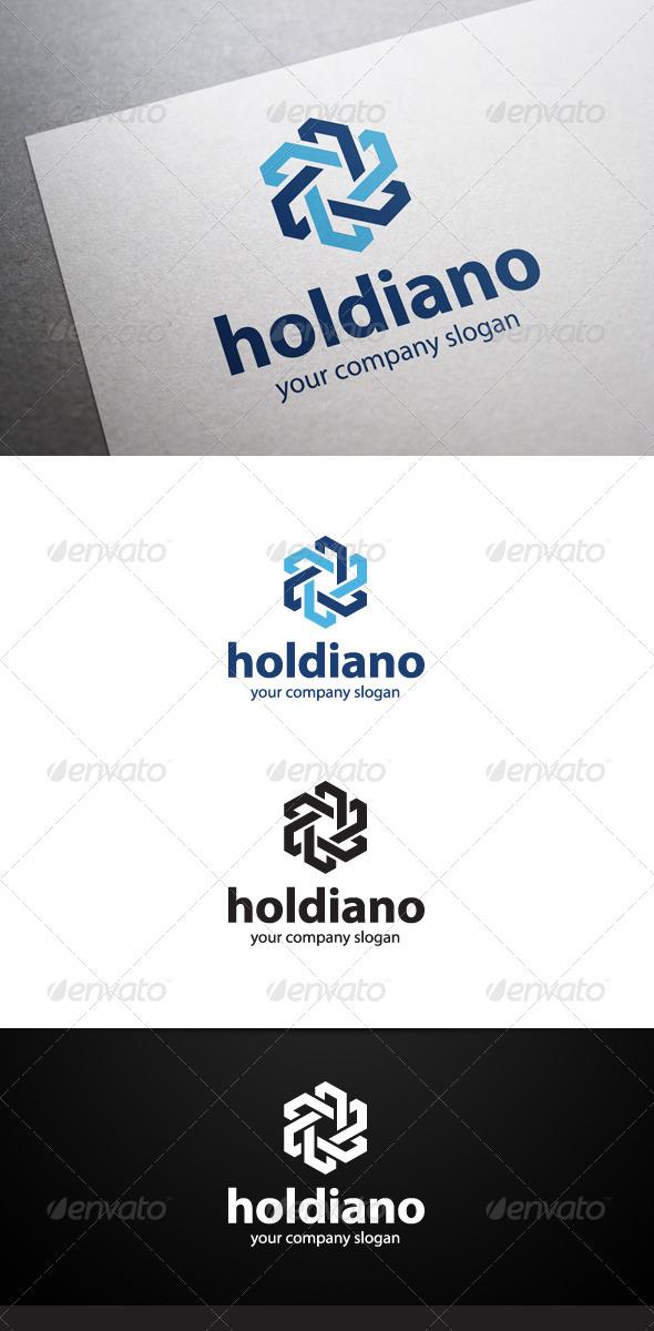 GraphicRiver Holdiano Logo 5846717
