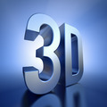 3D  logo with backlight - PhotoDune Item for Sale