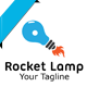 Rocket Lamp Logo - GraphicRiver Item for Sale