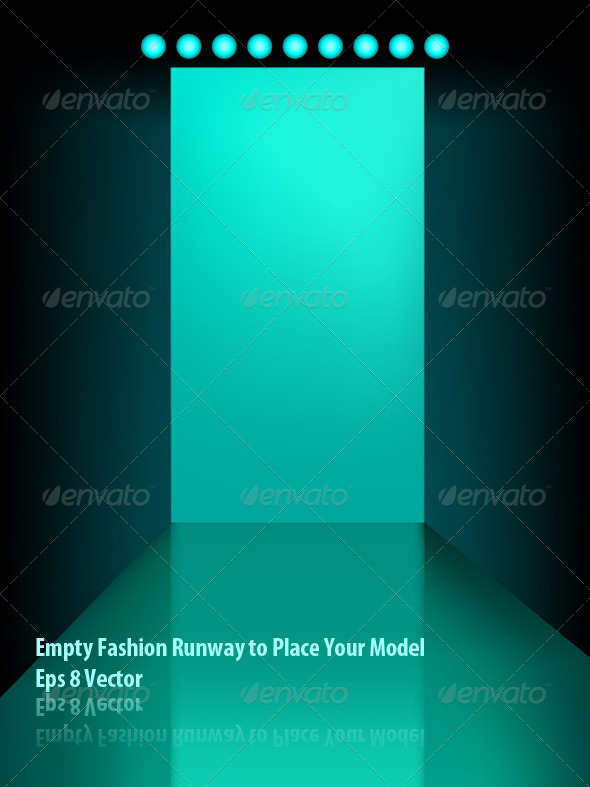 GraphicRiver Empty Fasion Runway 5848870
