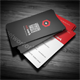 Creative Red Business Card - GraphicRiver Item for Sale