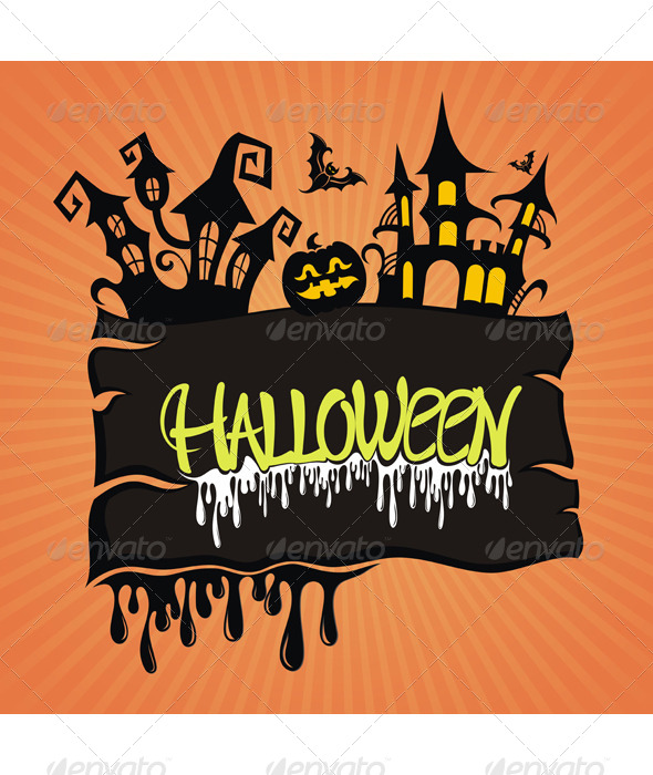 GraphicRiver Halloween Illustration 5850113