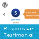 jQuery Responsive Testimonial WordPress Plugin - CodeCanyon Item for Sale