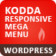 Kodda - Responsive WordPress Mega Menu  - CodeCanyon Item for Sale
