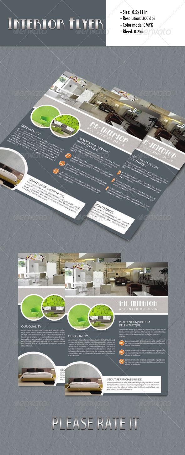GraphicRiver Interior Flyer 5853372