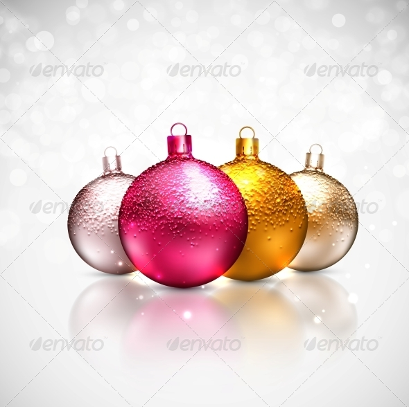 GraphicRiver Christmas Balls 5853533