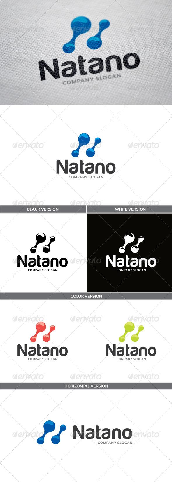 GraphicRiver Natano Logo 5853599