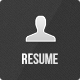 Resume - Responsive Personal Resume Theme - ThemeForest Item for Sale