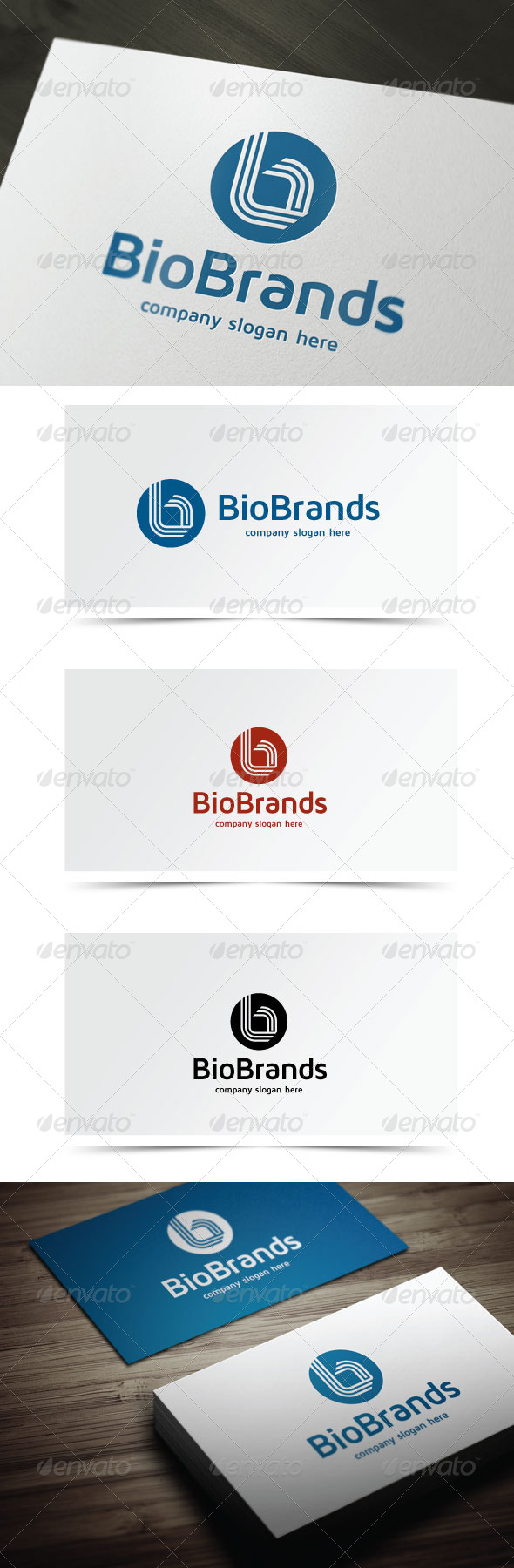 GraphicRiver Bio Brands 5853701