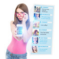 Teenage girl using social network on the phone - PhotoDune Item for Sale