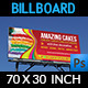 Cake Billboard Template Vol.4 - GraphicRiver Item for Sale
