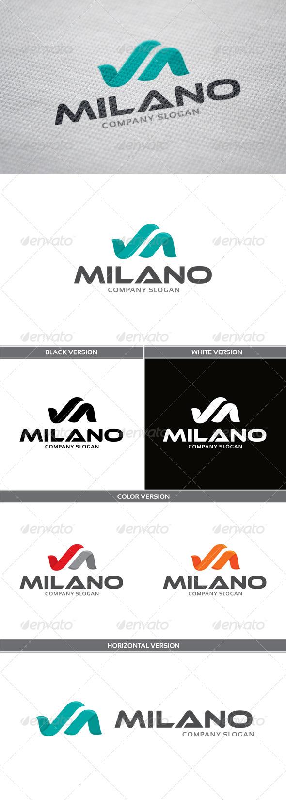 GraphicRiver Milano Logo 5854866