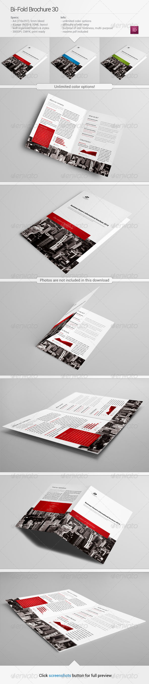GraphicRiver Bi-Fold Brochure 30 5854911
