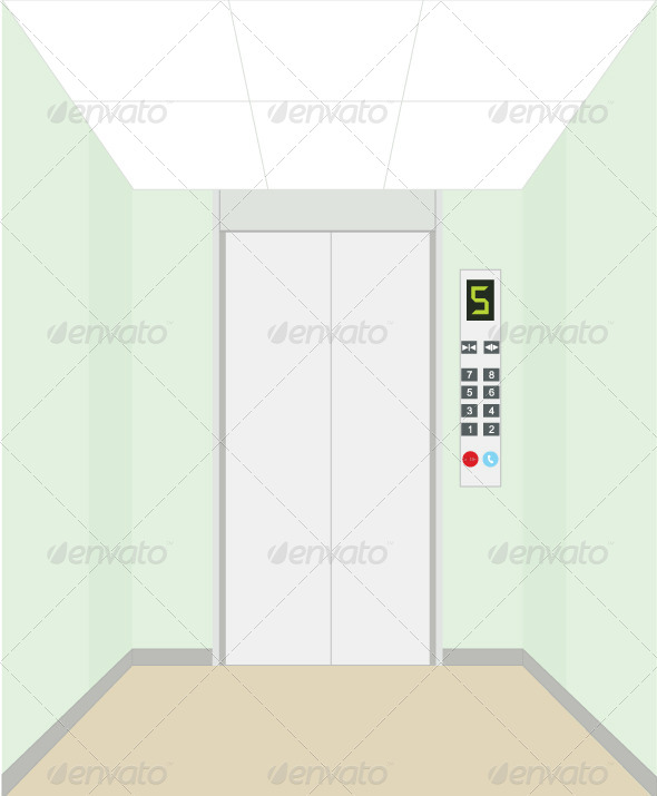GraphicRiver Elevator 5855167