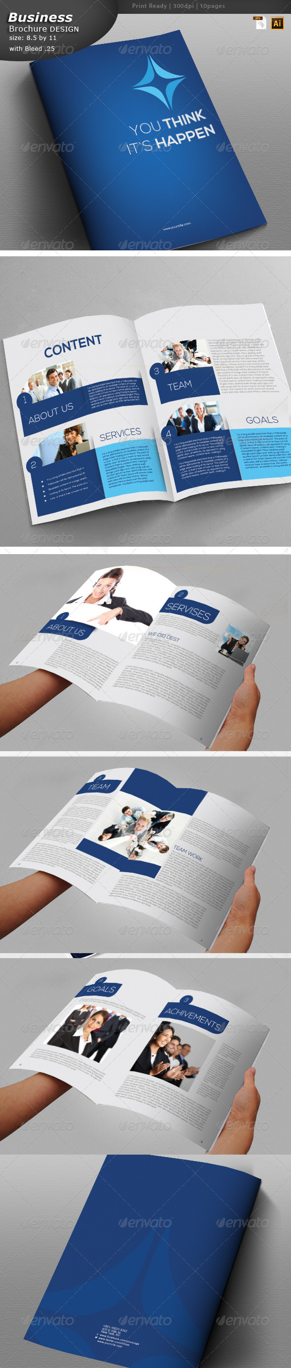GraphicRiver Business Brochure Design 5857284