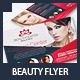Beauty Center & Spa Business Services Flyer - GraphicRiver Item for Sale