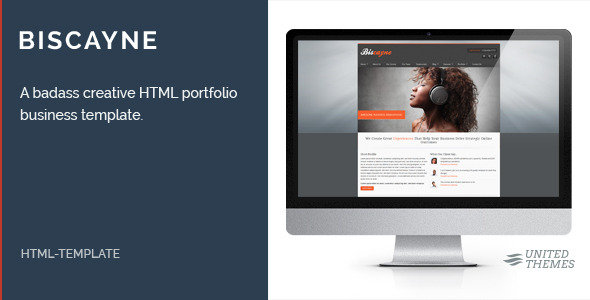 Biscayne - Modern Business HTML Template