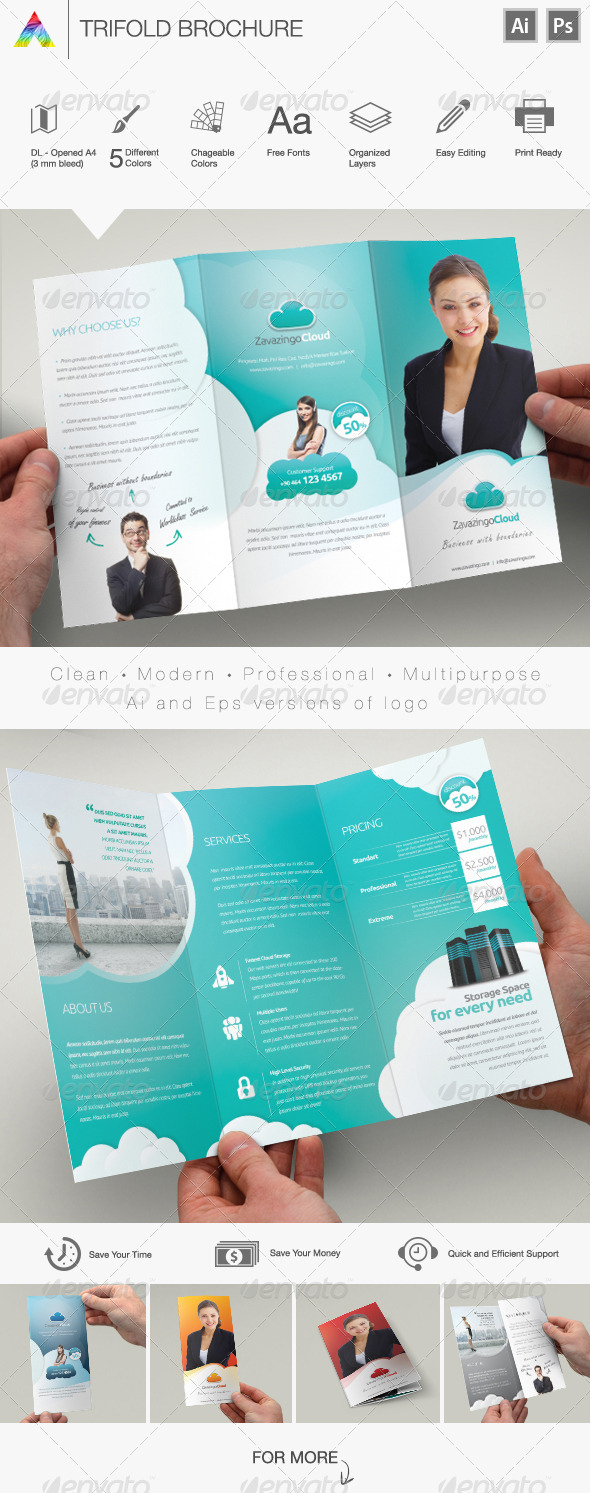GraphicRiver Multipurpose Brochure 5798165