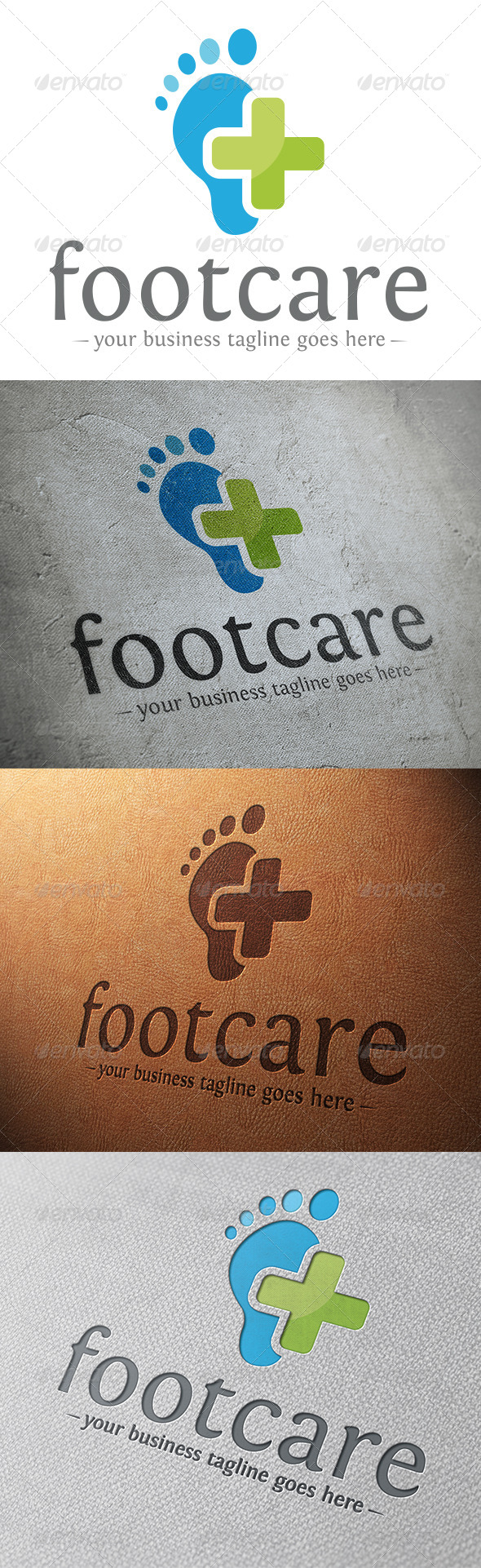 GraphicRiver Foot Care Logo Template 5859942