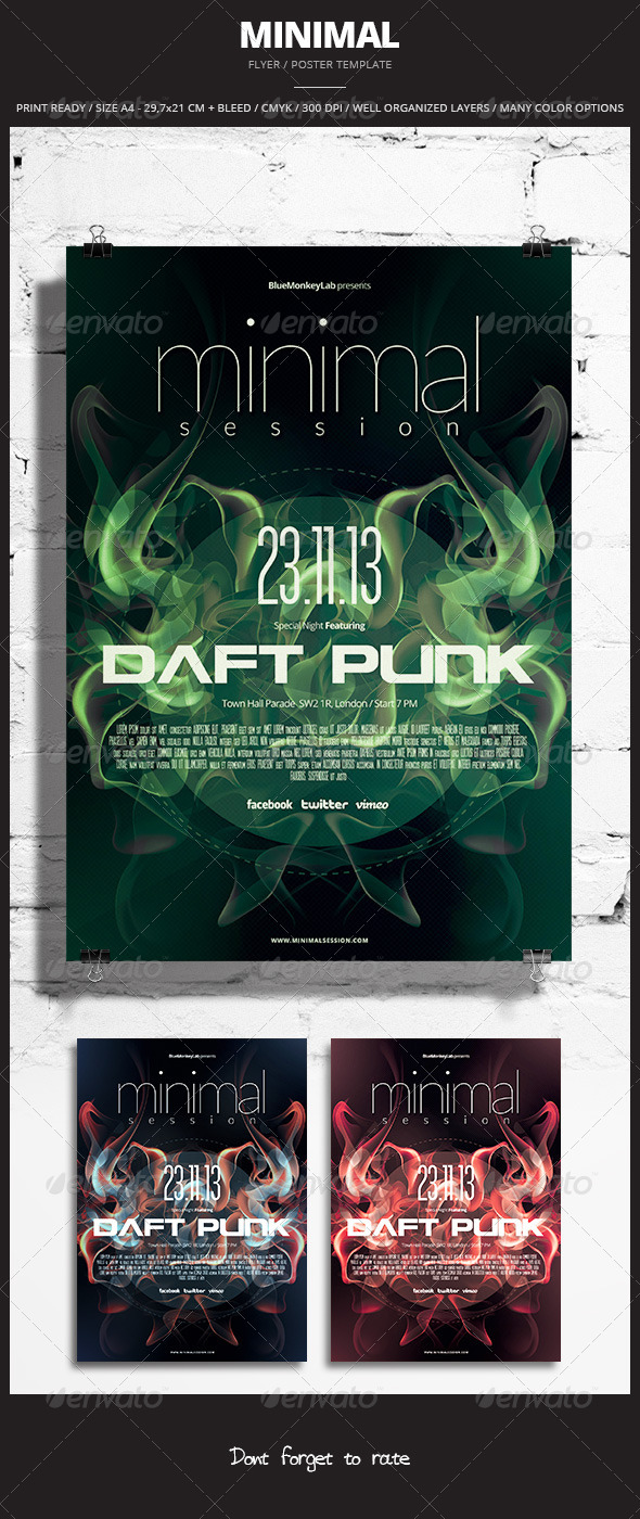 GraphicRiver Minimal Flyer Poster 3 5860387