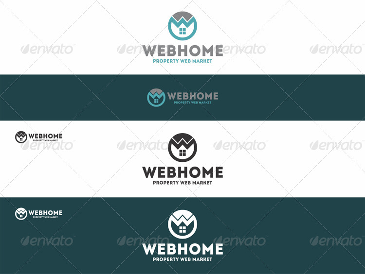 Web Home Property Logo