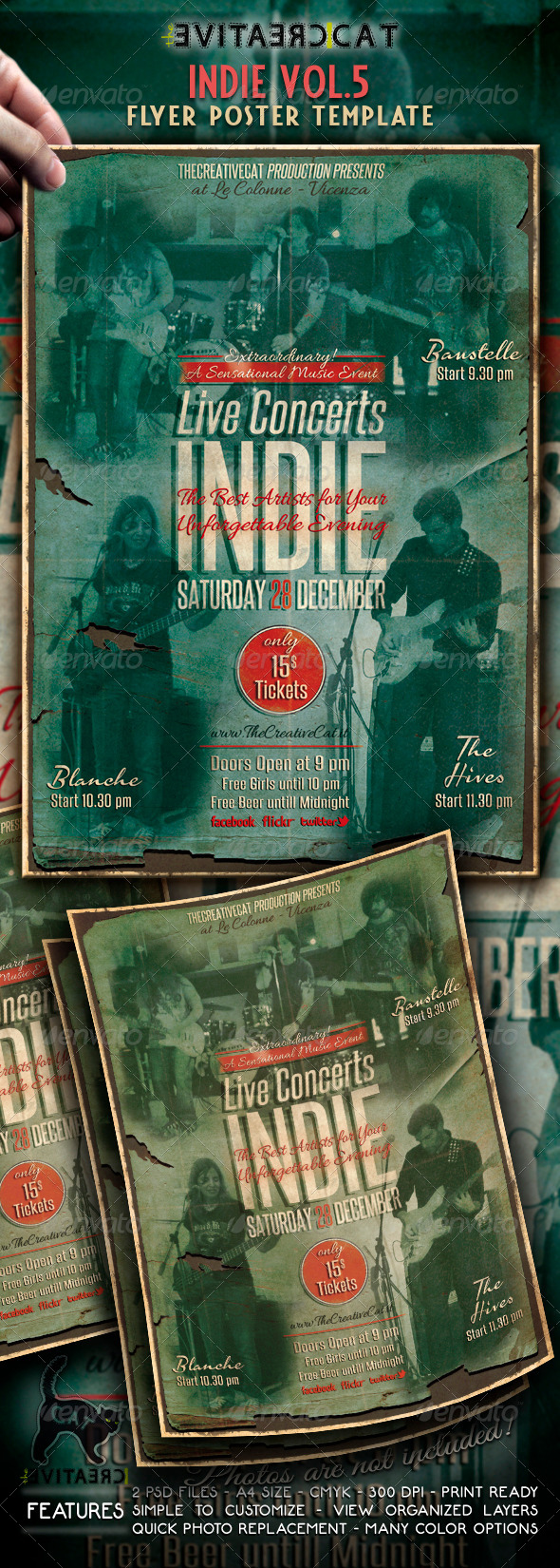 Indie Flyer/Poster Vol. 5 - Events Flyers