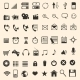 Vector Set of 56 Mobile Icons - GraphicRiver Item for Sale