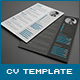 3-Piece Resume CV Cover Letter - GraphicRiver Item for Sale
