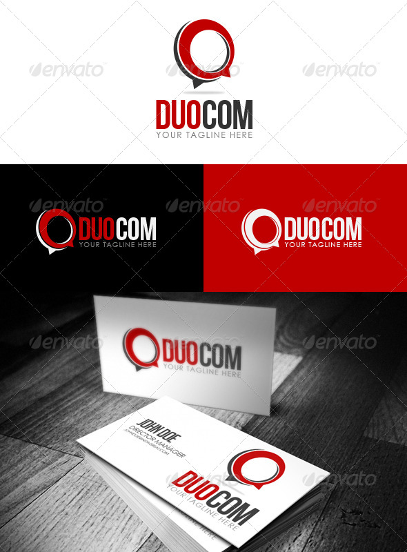 GraphicRiver Duo Com Logo 5862020