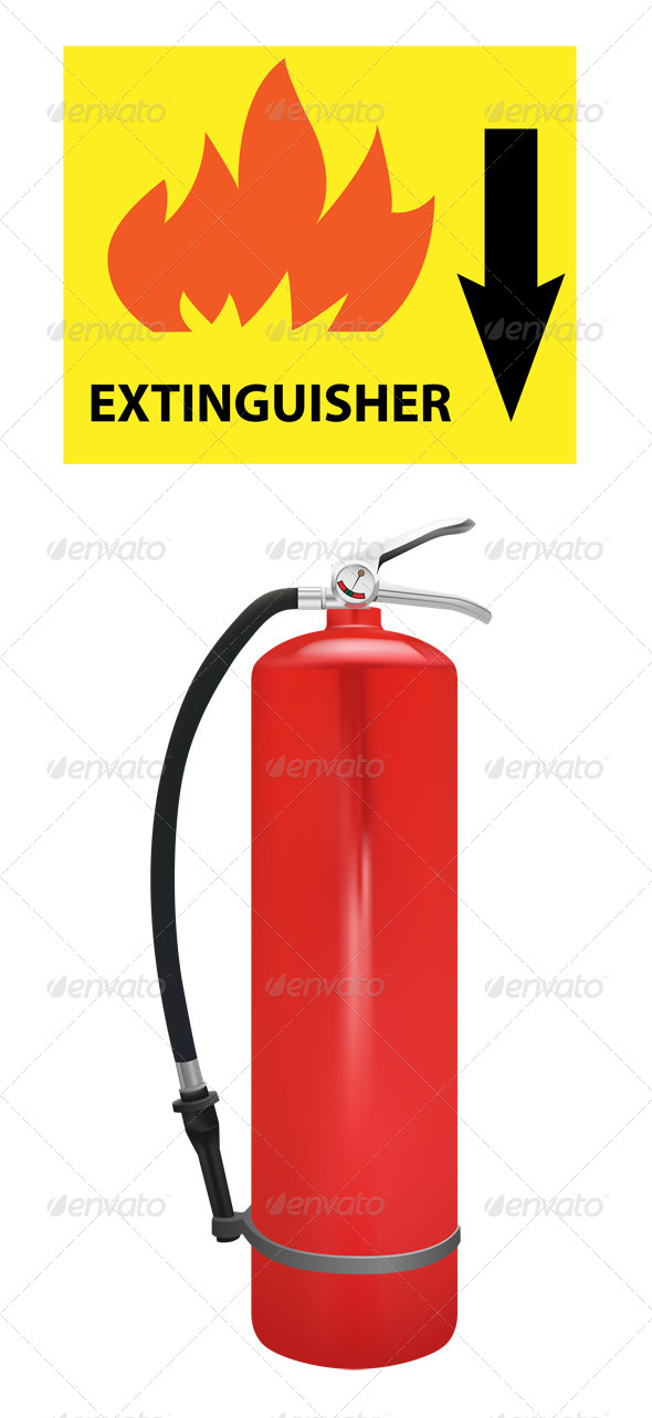 GraphicRiver Extinguisher 5862233