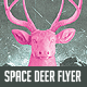 Space Deer Flyer Template - GraphicRiver Item for Sale