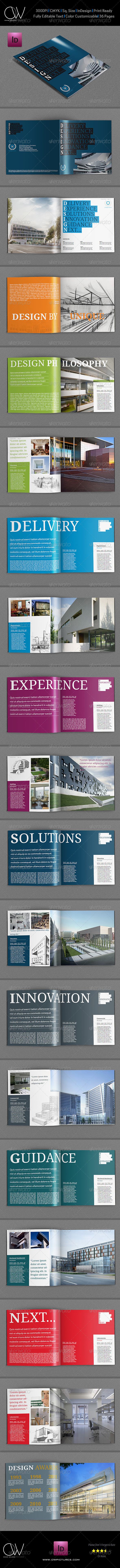 GraphicRiver Design Company Brochure Template 36 Pages 5827930