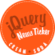 Cream Soda - Responsive jQuery News Ticker - CodeCanyon Item for Sale