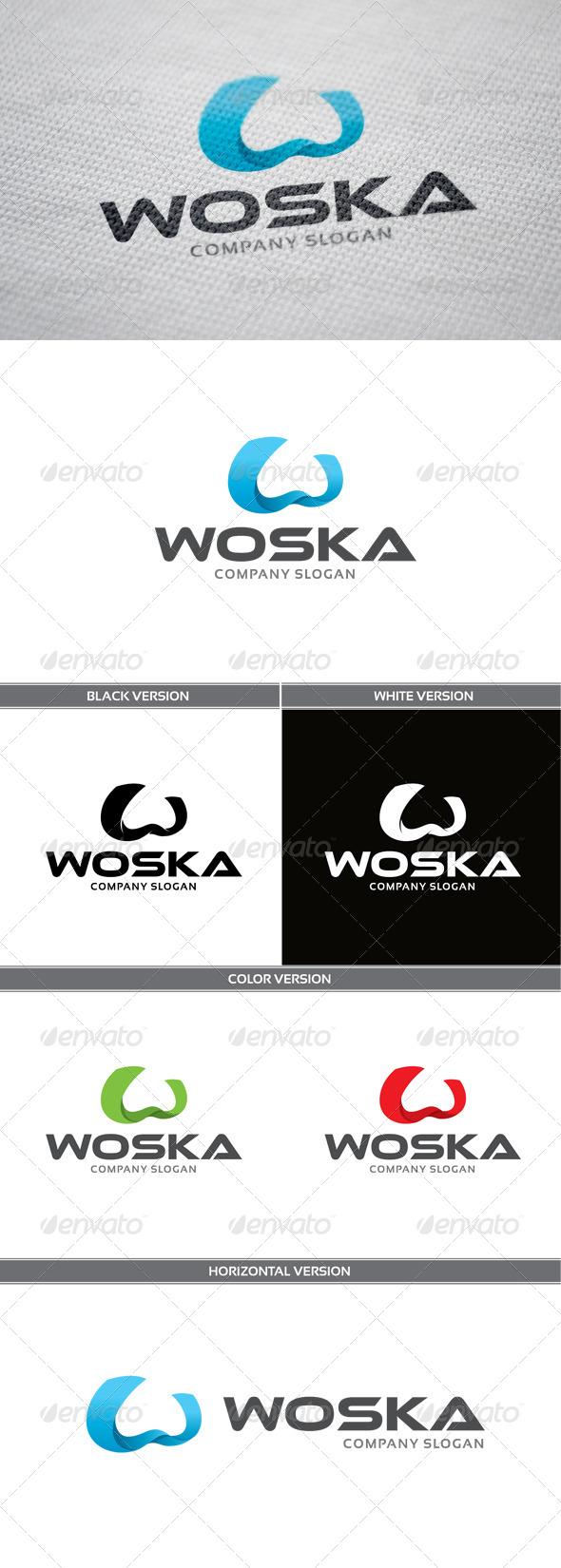 GraphicRiver Woska Logo 5864168