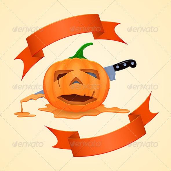 GraphicRiver Halloween Pumpkin 5864245
