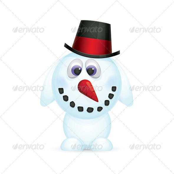 GraphicRiver Snowman 5864540
