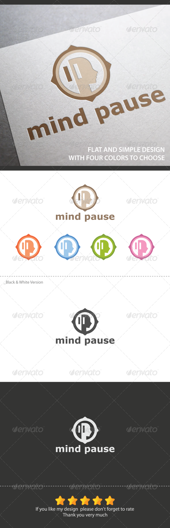 GraphicRiver Mind Pause 5857438