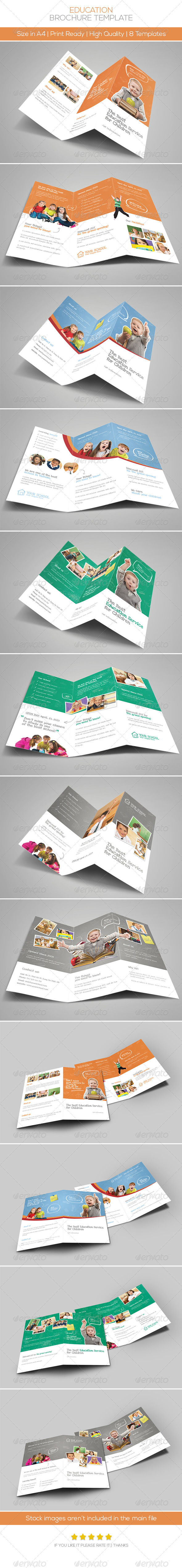 GraphicRiver Premium Education Brochure Tri-fold & Bi-fold 5866821