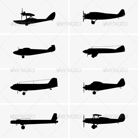 GraphicRiver Old Airplanes 5867058