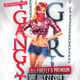 Gangsta Girls Flyer  - GraphicRiver Item for Sale