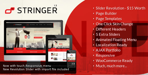 Stringer - Responsive WordPress Theme - Corporate WordPress