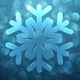 Glass Snowflake - GraphicRiver Item for Sale
