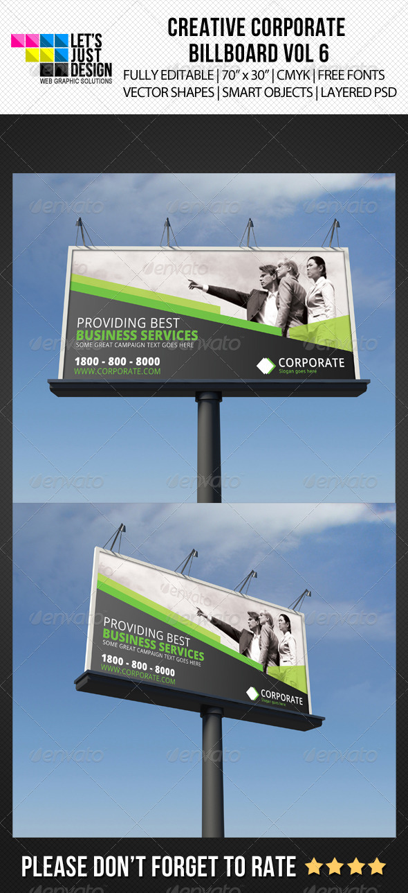 GraphicRiver Corporate Billboard Banner Vol 6 5868809