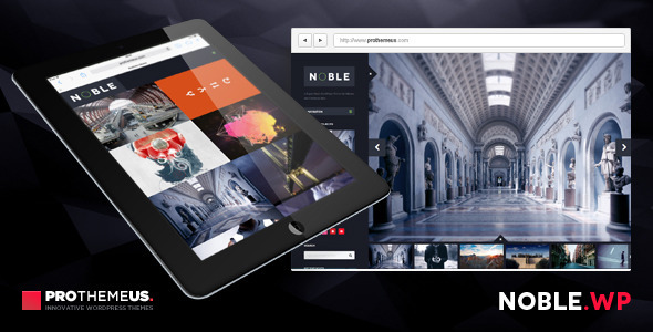 Noble | A Super-Clean WordPress Theme for Artisans - Creative WordPress