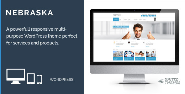 Nebraska - Responsive Multi-Purpose Theme - Corporate WordPress