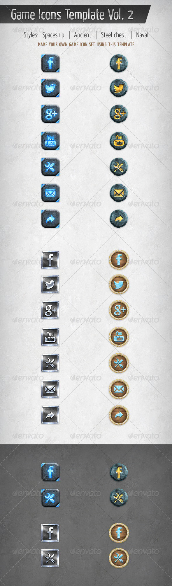 GraphicRiver Game Icons Template Vol 2 5870637