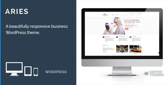Aries - Responsive Business WordPress Theme - Business Corporate